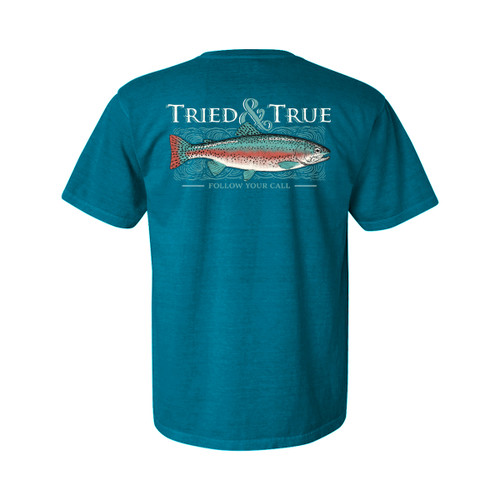 Tried and True Trout Unisex Comfort Colors Shirt Sleeve T-Shirt