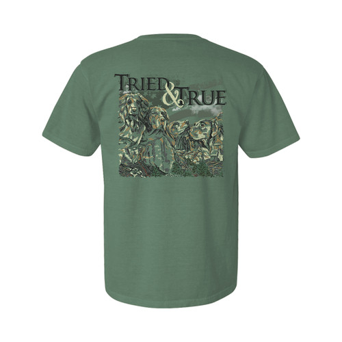 Tried and True Mt. Pupmore Unisex Comfort Colors Shirt Sleeve T-Shirt