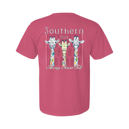 Southern Strut Youth Always Stand Tall Unisex Comfort Colors Short Sleeve T-Shirt