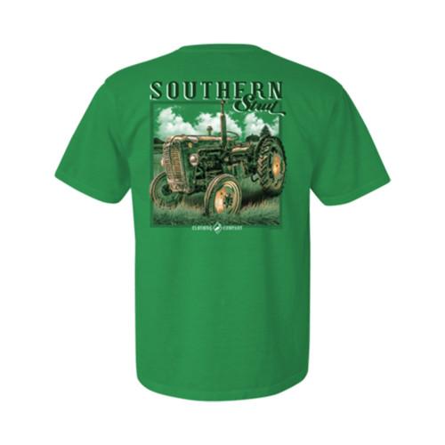 Southern Strut Youth Ol' Farm Tractor Unisex Short Sleeve T-Shirt