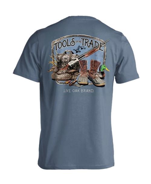 Live Oak Brand Tools Of The Trade Duck Hunt Adult Short Sleeve Comfort Colors T-Shirt