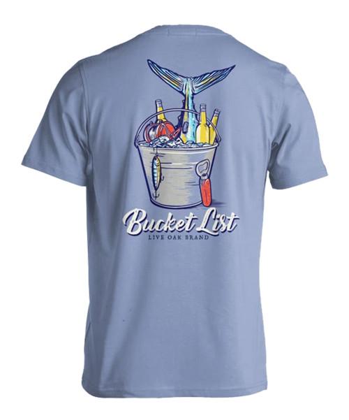 Live Oak Brand Bucket List Adult Short Sleeve Comfort Colors T-Shirt