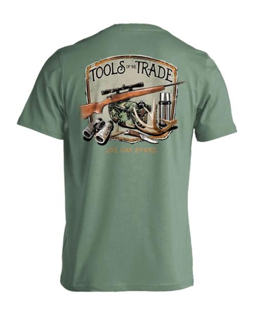 Live Oak Brand Tools Of The Trade Deer Hunt Adult Short Sleeve Comfort Colors T-Shirt