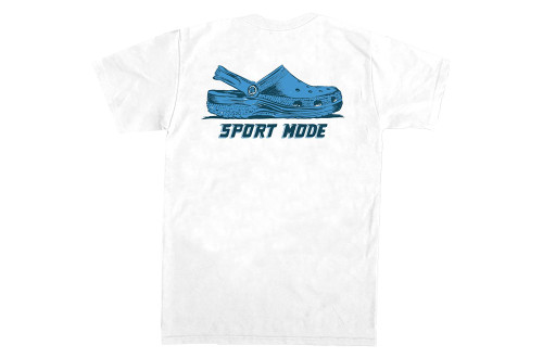 Old Row Sport Mode Adult Unisex Short Sleeve Pocket T-shirt