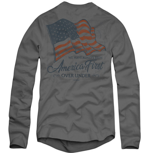 Over Under America First Long Sleeve T-Shirt