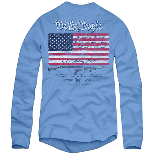 Over Under Right to Bear Arms Long Sleeve T-Shirt