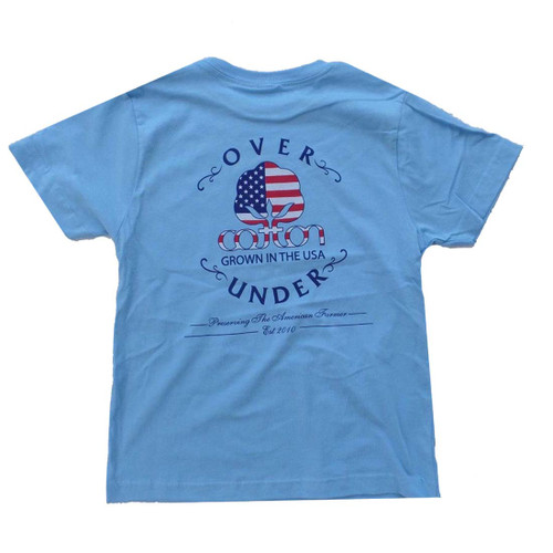 Over Under Youth Grown In USA Tee Shirt Tee Shirt