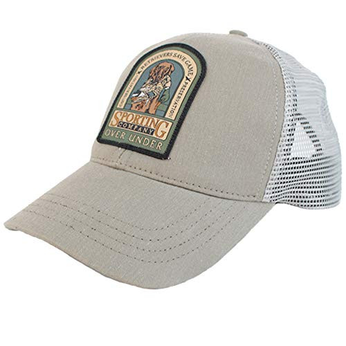 Over Under Retriever Save Game Mesh Back Cap Taupe one Size