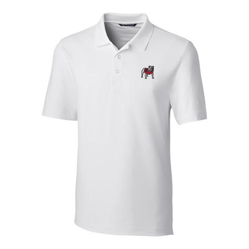 Cutter & Buck NCAA University of Georgia Bulldogs Forge Stretch Men's Short Sleeve Polo