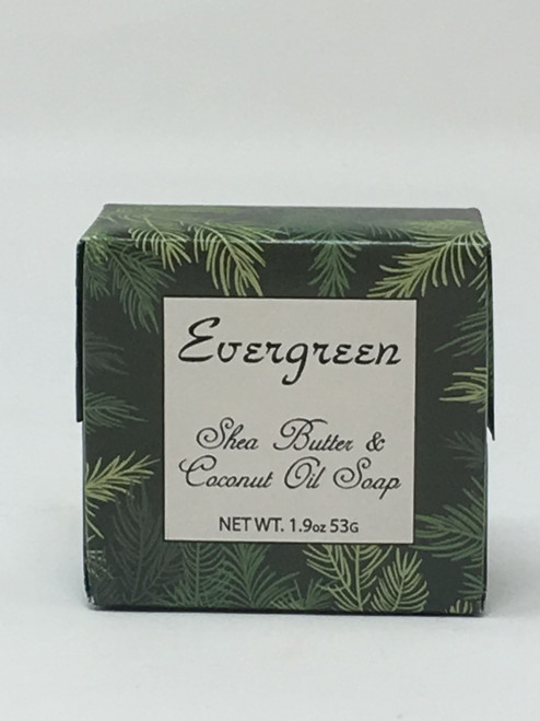 Habersham CandlesEvergreen Vegetable Soap Shea Butter And Coconut Oil 1.9 OZ