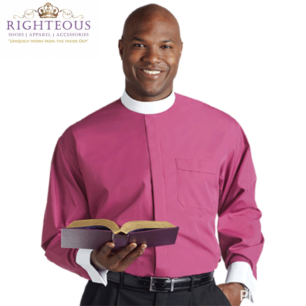 Men's Clergy Shirt RSASM-117
