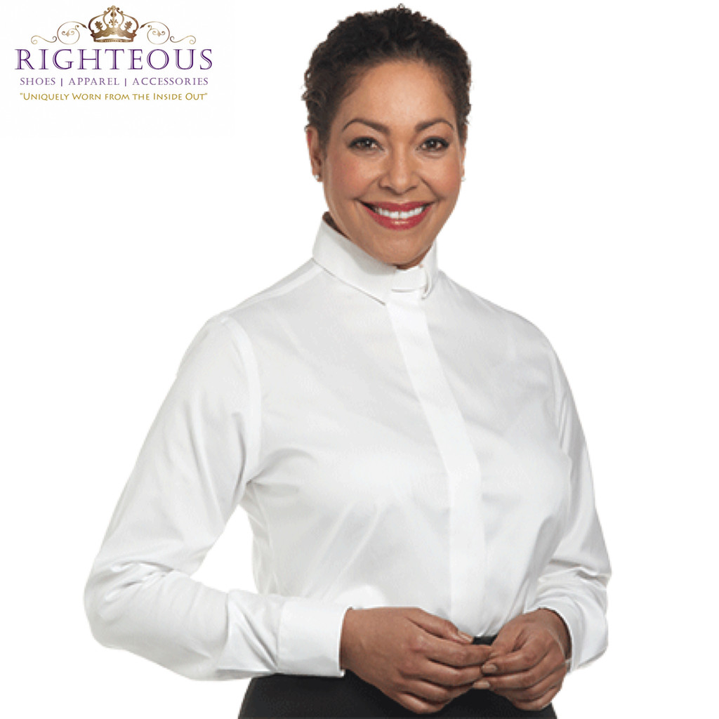Women's Clergy Shirt RSASW-111
