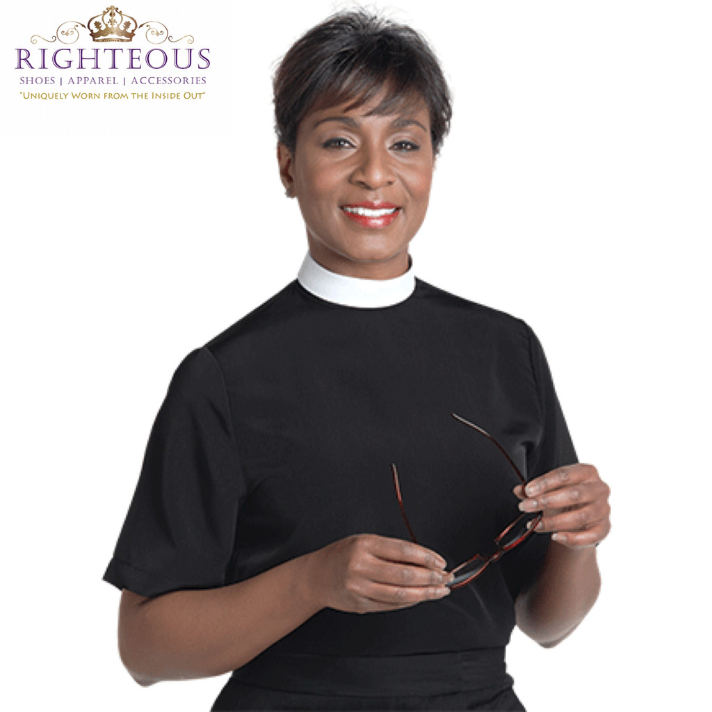 Women's Clergy Shirt RSASW-105