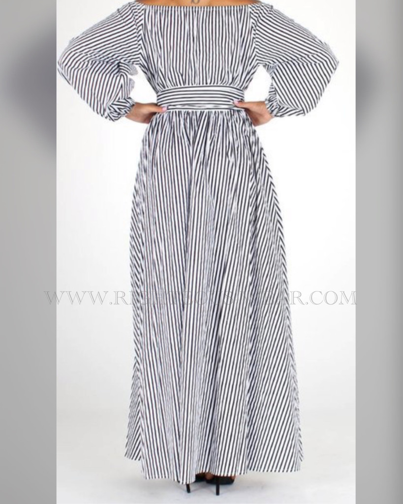LAWANNA ON/OFF SHOULDER DRESS