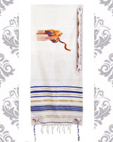 Blow the Shofar Acrylic Tallit