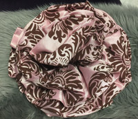 DAMASK CIRCULAR FLOWER PIN