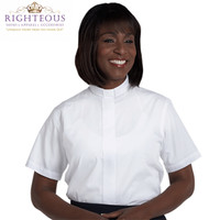 Women's Clergy Shirt RSASW-102