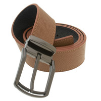 RS&A CROSS & CROWN MEN'S 100% LEATHER BELT #:05E115