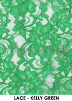 KELLY GREEN LACE