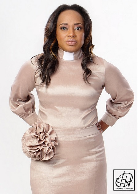 1ead62db0c4 TAWNI HAYNES CLERGY BLOUSE - Righteous Shoes   Apparel