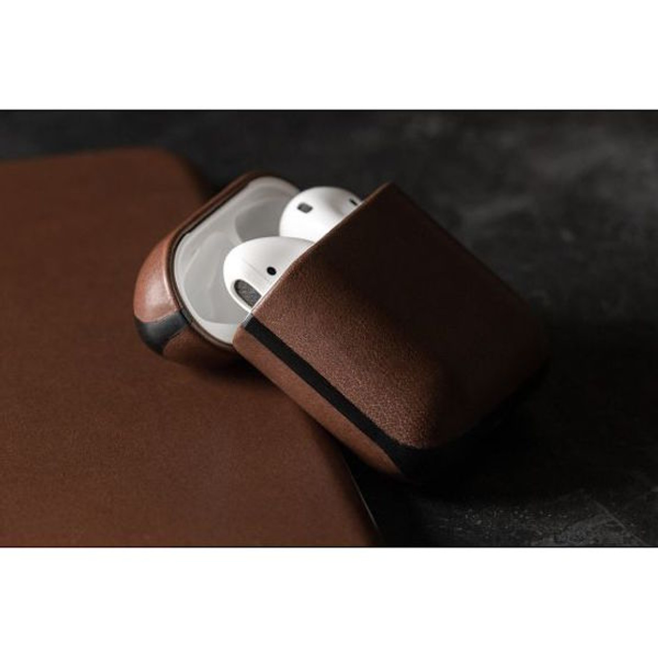 reputable site babf3 9c841 Nomad - AirPods Rugged Case - Rustic Brown