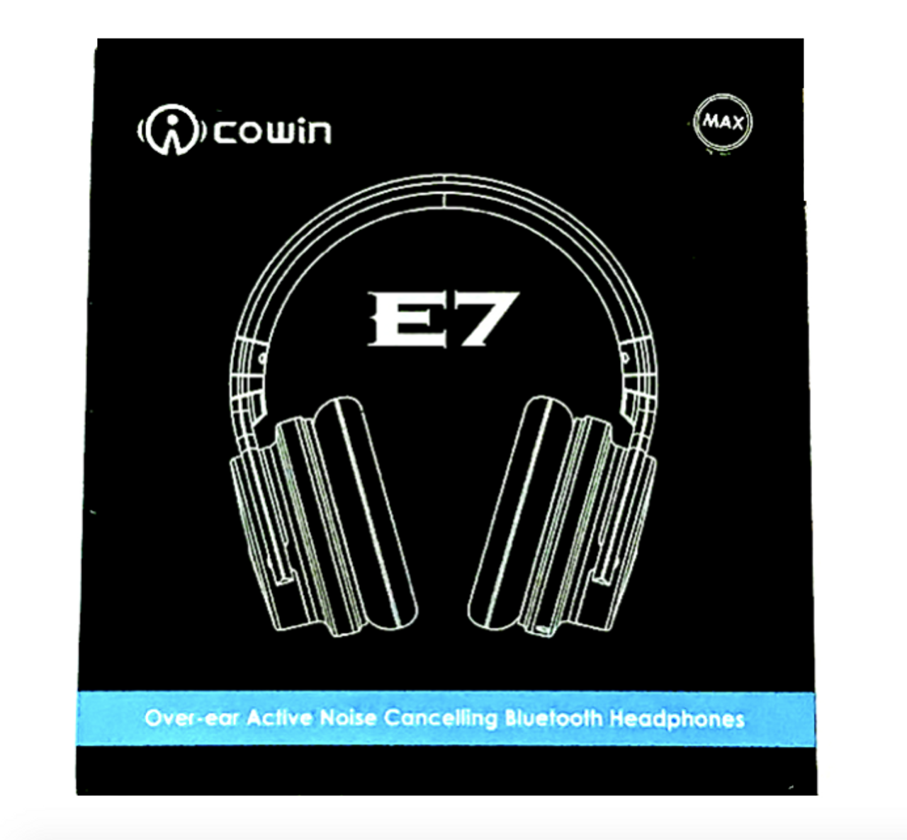 Cowin E7 MAX 2019 Active Noise Cancelling Wireless Bluetooth Headphones