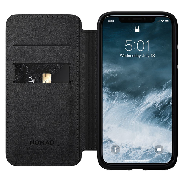 Nomad - Folio - Rugged - iPhone 11 Pro Max - Black **iPhone not included**