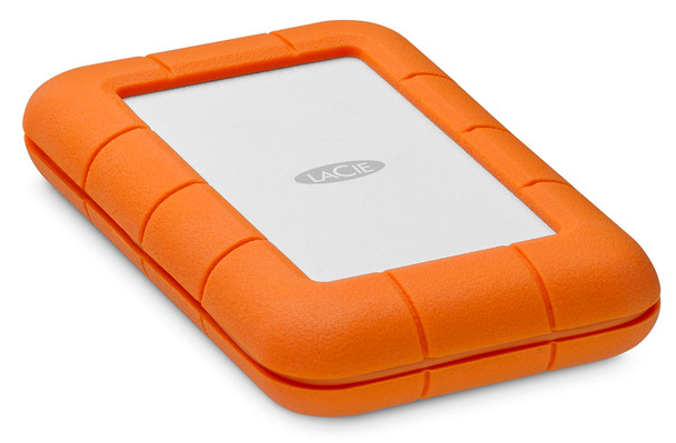 LaCie 5TB Rugged ThunderBolt Portable Hard Drive  + USB-C 3.1 3600RPM (STFS5000800)
