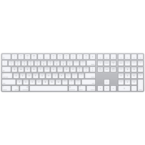 APPLE Magic Wireless Keyboard With Numeric Keypad (MQ052ZA/A)