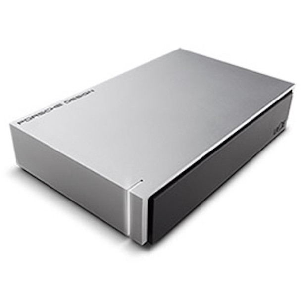 LACIE 6TB Porsche Design USB 3.0 Desktop Drive - Light Grey