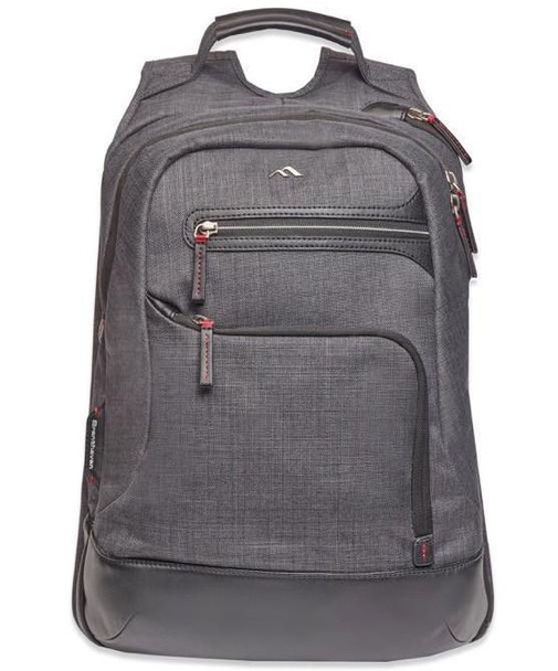 """Brenthaven Collins Backpack for up to 15"""" Macbook Por - Graphite"""