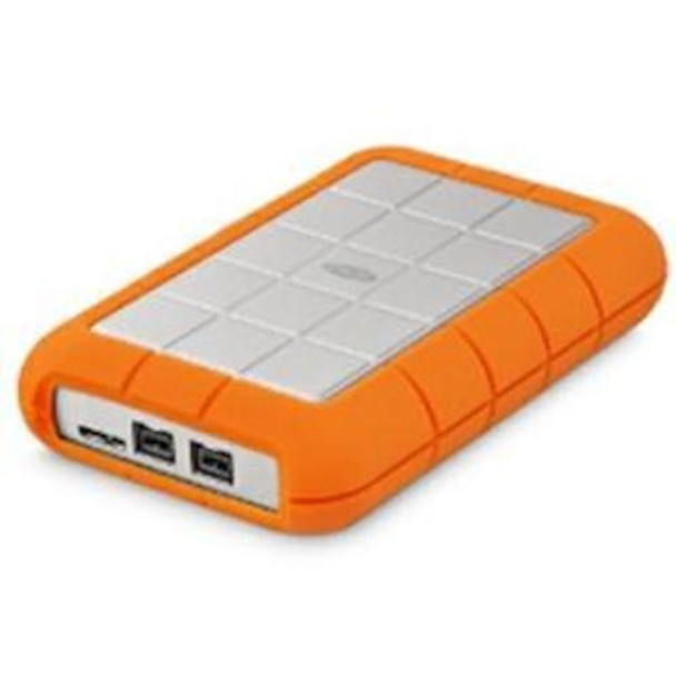 LACIE 2TB Rugged Triple USB 3.0 FW 800 Portable Drive (LAC9000448)