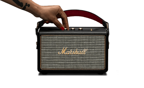 Marshall Kilburn Portable Bluetooth Speaker - Black (04091189)