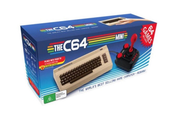 The C64 Mini with 64 Games Included