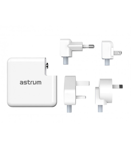 Astrum 3 in 1 Wireless Charger, 6700mAh Power Bank & Travel Adapter (CW400)