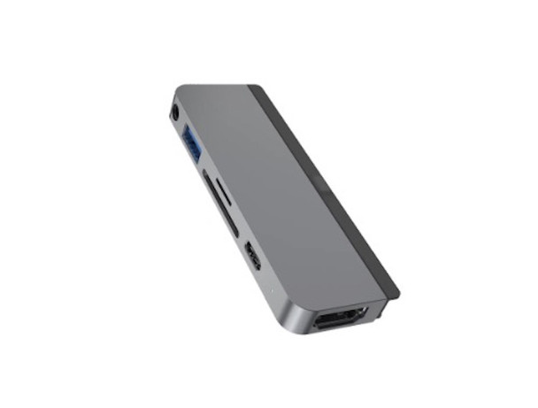HyperDrive 6-in-1 USB-C Hub for iPad Pro - Space Grey