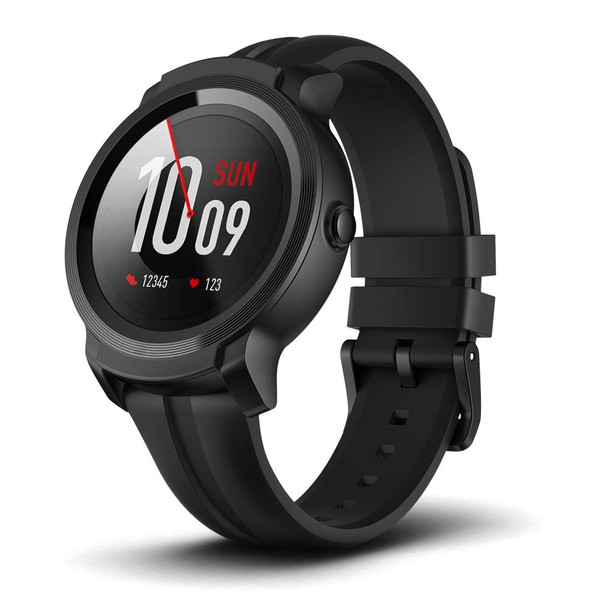 Mobvoi TicWatch E2 with Google Assistant Wear OS by Google - Shadow (WG12026-Shadow)