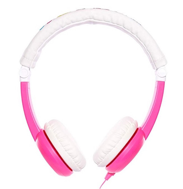 Buddy On/Off Volume Limiting Headphones - Pink