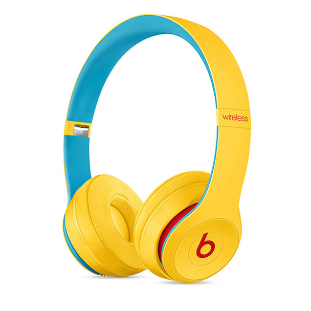 Beats Solo3 Wireless Headphones - Beats Club Collection - Club Yellow