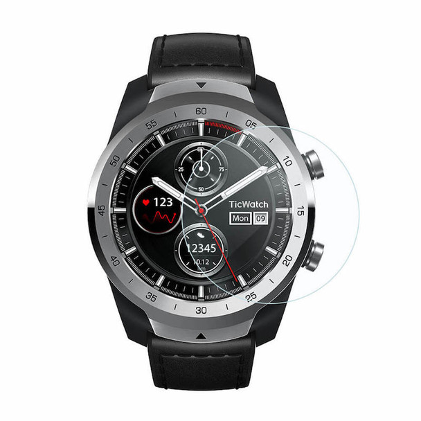 Mobvoi TicWatch Pro with Google Fit and Wear OS by Google - Elegant Silver