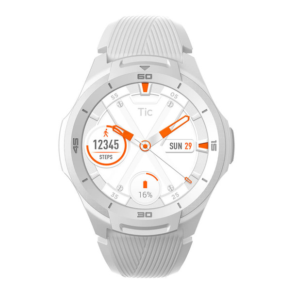 Mobvoi TicWatch S2 with Wear OS by Google - Glacier