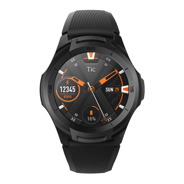 Mobvoi TicWatch S2 with Wear OS by Google - Midnight