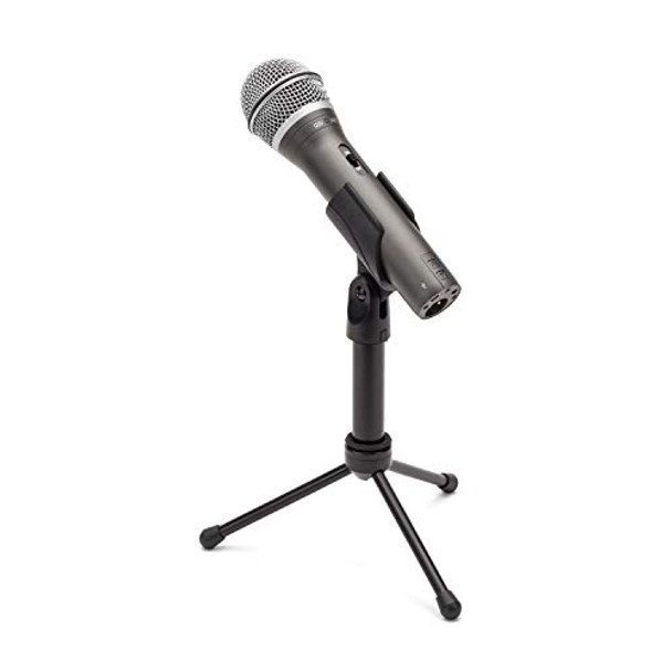 Samson Q2U Recording and Podcasting Pack - USB/XLR Dynamic Microphone with Accessories