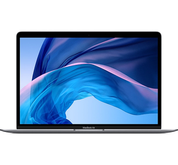 Apple Macbook Air 13-inch 1.1GHz dual-core Intel Core i3 processor with Turbo Boost up to 3.2GHz 256GB storage Touch ID - Space Grey (2020) (MWTJ2X/A)