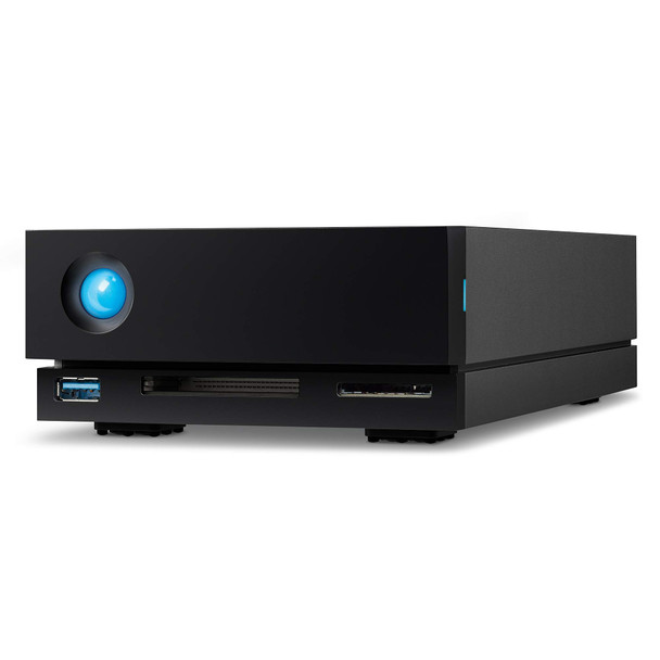 Lacie 1Big Dock 8TB Professional Thunderbolt 3 and USB Desktop Storage and Docking Station for Mac and PC (STHS8000800)
