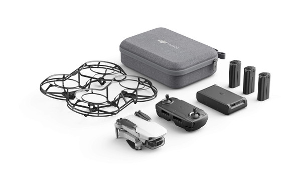 DJI Mavic Mini Fly More Combo - Drone FlyCam Quadcopter with 2.7K Camera 3-Axis Gimbal GPS 30min Flight Time