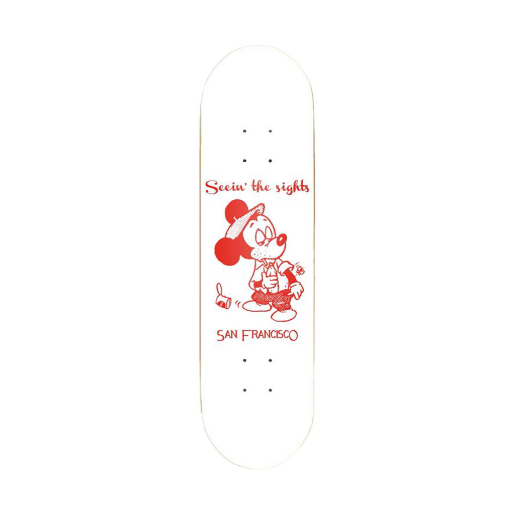 Snack Skateboards - Seein The Sights 8.25