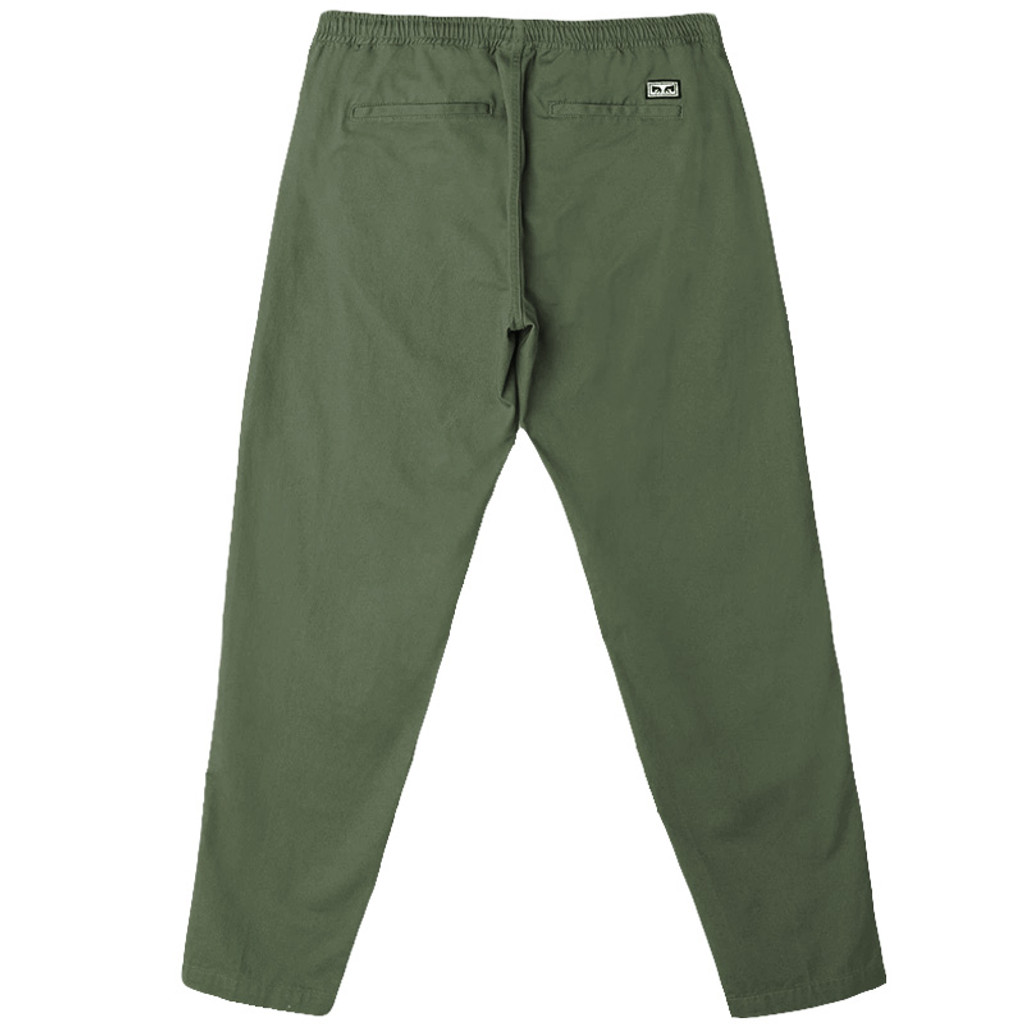 Obey - Easy Twill Pant Army Tent FTC Skateboarding