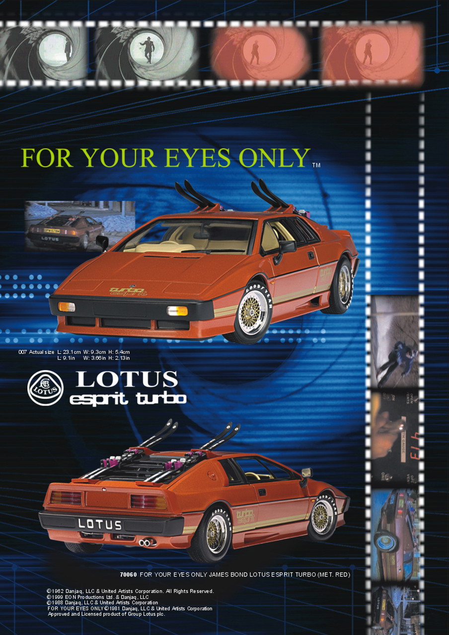 70060 Lotus Esprit Turbo Metallic Red