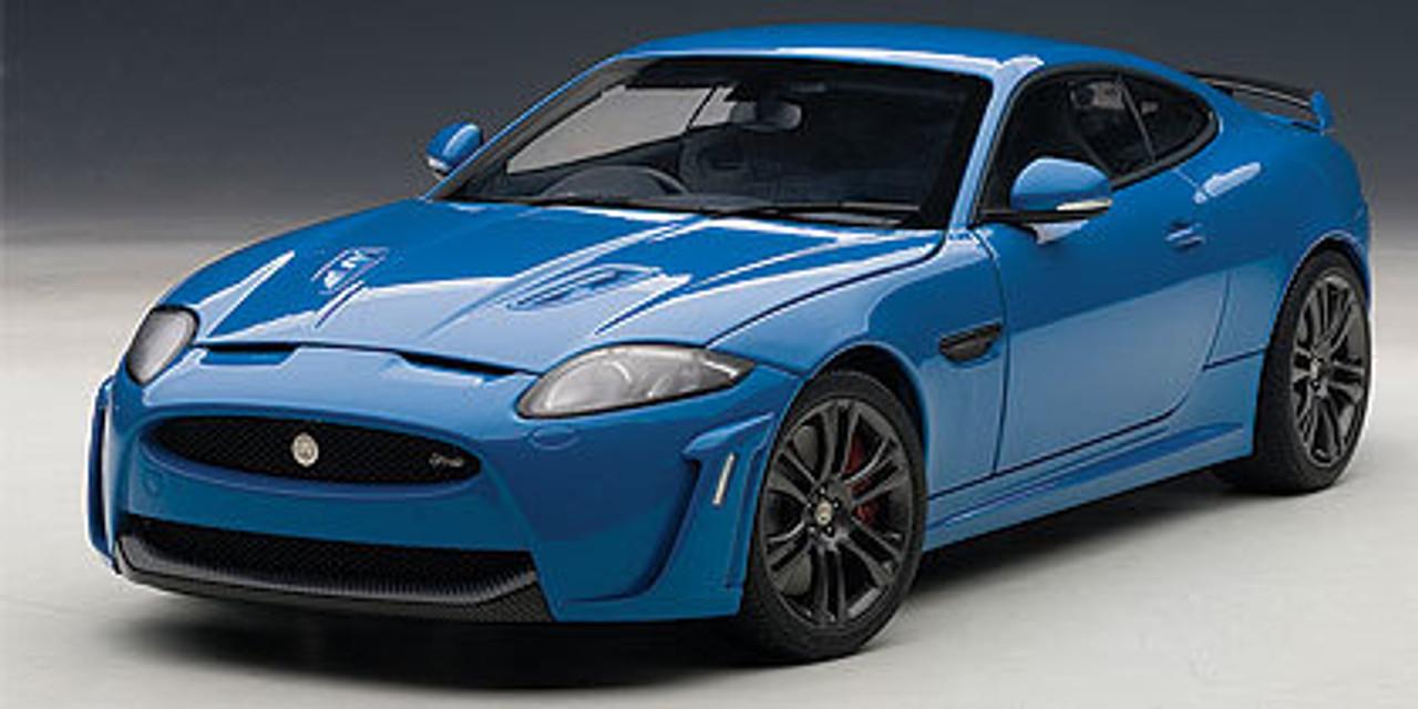 Jaguar - 73641 jaguar XKR-S blue - Page 1 - AUTOart Spares